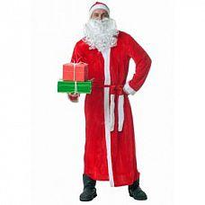Настоящий костюм Деда Мороза  Костюм состоит из кафтана, пояса, шапки, бороды.