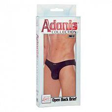 Мужские трусы Adonis Open Back Brief M/L  Мужские трусы Adonis черного цвета.