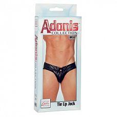 Мужские трусы Adonis Tie Up Jock M/L  Мужские джоки Adonis черного цвета.