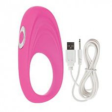 Розовое виброкольцо Embrace pleasure rings  Розовое виброкольцо Embrace pleasure rings.