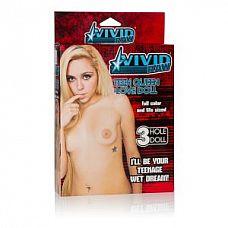 Надувная секс-кукла Vivid Raw Teen Queen Love Doll   Кукла Vivid Raw Teen Queen Love Doll телесная. 3 любовных отверстия.