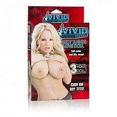 Надувная секс-кукла Vivid Raw Juicy Juggs Love Doll   Кукла Vivid Raw Juicy Juggs Love Doll телесная. 3 любовных отверстия.