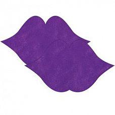 Фиолетовые пестисы в форме губ  Фиолетовые пестисы в форме губ.
