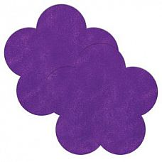 Фиолетовые пестисы в форме цветочков  Фиолетовые пестисы в форме цветочков.