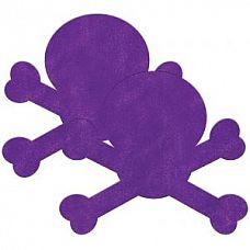 Фиолетовые пестис в форме черепов  Фиолетовые пестис в форме черепов.