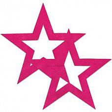 Розовые пестисы в форме звёзд  Розовые пестисы в форме звёзд.