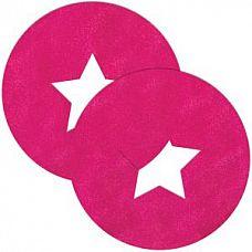 Розовые круглые пестис со звёздочками  Розовые круглые пестис со звёздочками.
