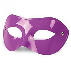 Фиолетовая гладкая маска на глаза  Фиолетовая гладкая маска на глаза.