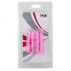 Пупырчатые насадки на пальцы розового цвета  Пупырчатые насадки на пальцы розового цвета.