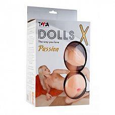 Надувная секс-кукла с реалистичными вставками  Надувная кукла, новой коллекции Dolls-X.