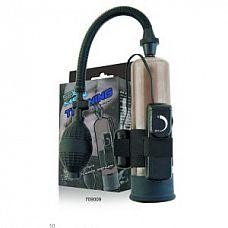 Вибропомпа с силиконовым уплотнительным кольцом и выносным пультом   Помпа-массажер серии Training.