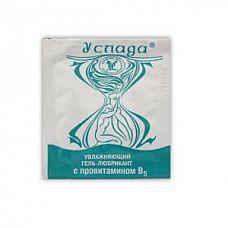 Гель-лубрикант  Услада  в одноразовой упаковке - 4 гр.  Безжировая смазка на водной основе без запаха, вкуса и цвета.
