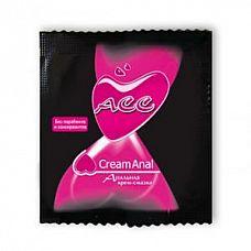 Крем-смазка Creamanal ACC в одноразовой упаковке - 4 гр.   Силиконовая анальная крем-смазка.