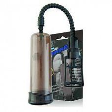 Дымчатая помпа-массажер с удобным рычагом для откачки воздуха  Помпа-массажер серии Training.