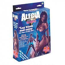 Темнокожая секс-кукла Alecia  Темнокожая секс-кукла Alecia. 3 любовных отверстия.