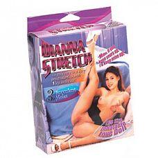 Надувная секс-кукла с задранной вверх ножкой  Надувная секс-кукла с задранной вверх ножкой. 3 любовных отверстия.