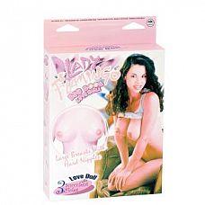 Надувная секс-кукла с пышным бюстом Lady Flamingo  Надувная секс-кукла с пышным бюстом Lady Flamingo. 3 любовных отверстия.