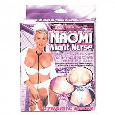 Надувная секс-кукла медсестра  Надувная секс-кукла медсестра. 2 любовных отверстия - вагина и анус.