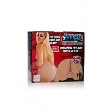 Мастурбатор реалистичный Vivid Raw Teen Assterbator с вибрацией телесный  Мастурбатор реалистичный Vivid Raw Teen Assterbator с вибрацией телесный - нежное удовольствие.