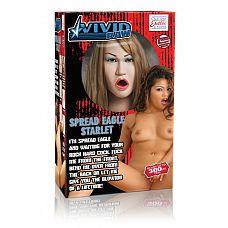 Кукла Vivid Raw Spread Eagle Starlet телесная  Кукла Vivid Raw Spread Eagle Starlet телесная - искусительница.