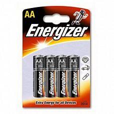 Батарейки AA Energizer Plus Base Alkaline LR6 - 4 шт  Мизинчиковые батарейки Energizer типа ААА, алкалиновые.