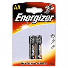 Батарейки AA Energizer Base Alkaline LR6 - 2 шт  Мизинчиковые батарейки Energizer типа ААА, алкалиновые.