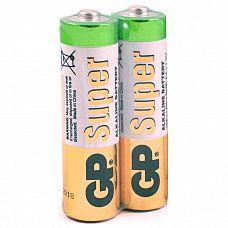 Батарейки AA GP LR6 Alkaline - 2 шт