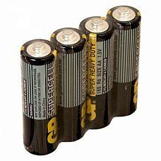 Батарейки AA GP R6 серые - 4 шт