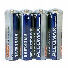 Батарейки AA Samsung Pleomax R6 - 4 шт  Мизинчиковые батарейки Energizer типа ААА, алкалиновые.
