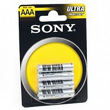 Батарейки AAA Sony New Ultra R03 - 4 шт
