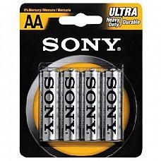 Батарейки AA Sony New Ultra R6 - 4 шт