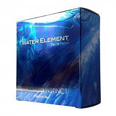 Мужская парфюмерная вода Natural Instinct Water Element - 100 мл.  «Water Element» это легкая свежесть и прозрачная прохлада дыхания стихии воды.