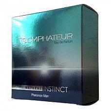 Мужская парфюмерная вода Natural Instinct Triomphateur - 100 мл.  «Triomphateur» Динамичный и полный энергии, он призывает встречать вызовы судьбы открыто и уверенно, не уклоняться от проблем, сохранять спокойствие и не сопротивляться динамике городской жизни.