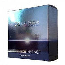Мужская парфюмерная вода Natural Instinct De La Mer - 100 мл.  «De La Mer» Легкий и молодежный, , освежающий, древесно-пряный парфюм предназначен для молодых мужчин, которые живут на «волнах» своих эмоций, для тех, кого неотвратимо влечет к морю.