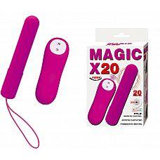 Лиловая вибропуля Magic x30   Лиловая вибропуля Magic x30.