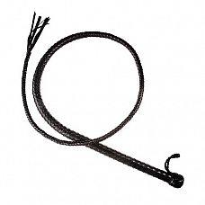 Кнут  4050-1  Кнут имеет жёсткую рукоять и длинное тело с конусным силиконовым сердечником внутри.