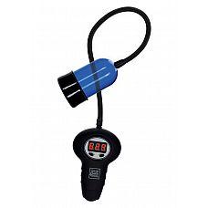 Синяя автоматическая вакуумная помпа APOLLO AUTOMATIC   Это невероятное средство, которое позволит мужчине добраться до вершин наслаждения с помощью профессиональной стимуляции головки полового члена.