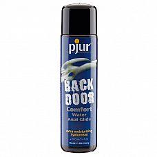 Концентрированный анальный лубрикант pjur back door Comfort Water Anal Glide - 100 мл.  Экстра концентрированный анальный лубрикант на водной основе, созданный специально для жесткого анального секса.