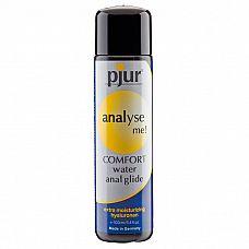 Анальный лубрикант pjur analyse me! Comfort Water Anal Glide - 100 мл.  Расслабляющий анальный гель на водной основе с экстра длительным скольжением для любителей интенсивного анального секса.