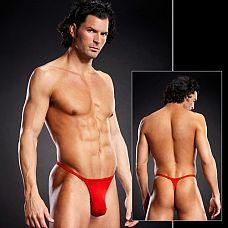 Т-стринги для мужчин  Мужские открытые трусы с тонкой резинкой.