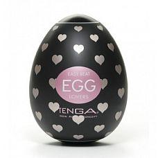 Мастурбатор-яйцо Tenga Egg Lovers  Tenga Egg Lovers обладает множеством линий, которые вьются и переплетаются.