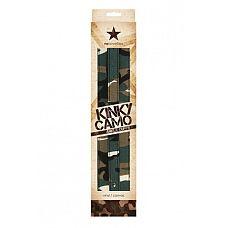 Манжеты на ноги Kinky Camo камуфляж  Манжеты на ноги Kinky Camo - функциональный аксессуар.