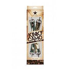 Крестообразное соединение Kinky Camo с карабинами камуфляж  Крестообразное соединение с карабинами Kinky Camo идеальное решение для надёжной фиксации.