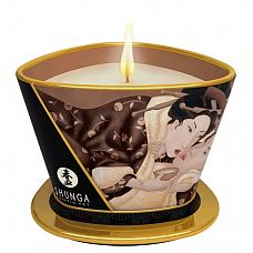 Массажная свеча Intoxicatin Chocolate с ароматом шоколада - 170 мл.  Массажная свеча Intoxicatin Chocolate с ароматом шоколада.