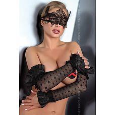 Ажурная маска на глаза  Элегантная маска, прекрасно дополнит любой образ.