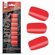 Набор лаковых полосок для ногтей Красный шик Nail Foil  Набор из 20 потрясающих наклеек на ногти с лаковым покрытием, создающих эффект превосходного салонного маникюра! Простой в нанесении маникюр отлично держится до 10 дней.