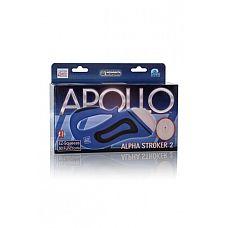 Мастурбатор-вагина Apollo™ Alpha Stroker™ Alpha Stroker™ 2 с вибрацией голубой  Мастурбатор-вагина Apollo™ Alpha Stroker™ Alpha Stroker™ 2 с вибрацией -незабываемое мужское удовольствие.
