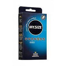 Презервативы MY.SIZE №10 Размер 60 - 10 шт.  Презервативы MY.