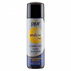 Анальный лубрикант pjur ANALYSE ME Comfort Water Anal Glide - 250 мл.  Расслабляющий анальный гель на водной основе с экстра длительным скольжением.