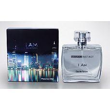 Мужская парфюмерная вода с феромонами Natural Instinct I Am - 100 мл.  Семейство: древесные, пряные, цветочные.
